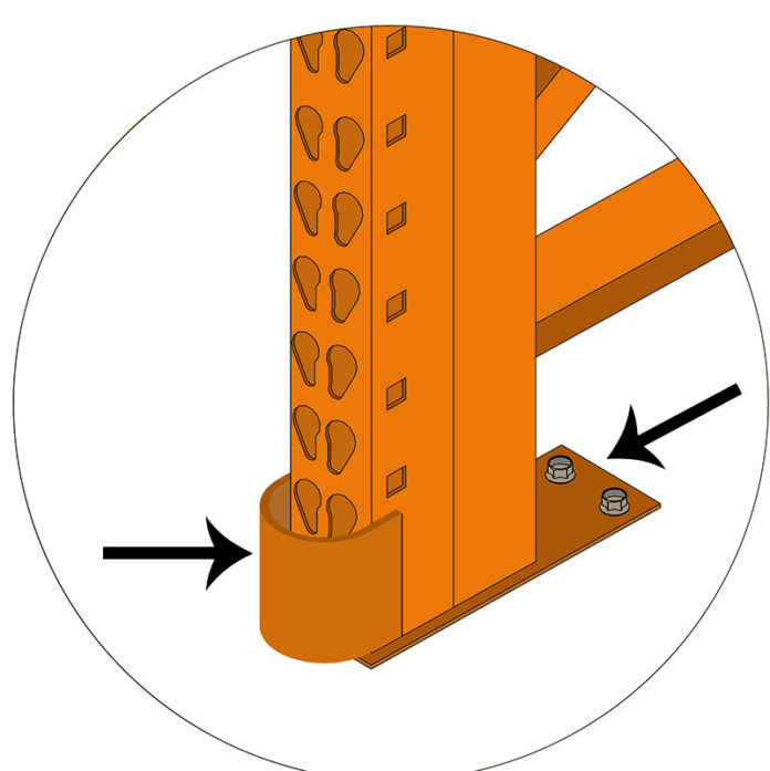 Straddle Protector - 2 Anchors